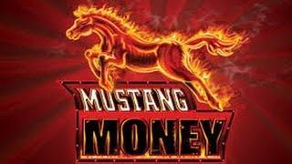 $1 Denom Ainsworth Mustang Money Decent win Free Spin Bonus