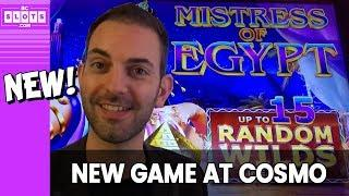 • NEW • Mistress of Egypt • $1500 @ Cosmo Las Vegas • BCSlots  (S. 3 • Ep. 2)