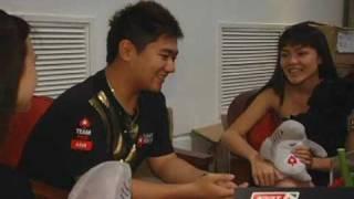 APPT Cebu 09 Bryan Huang's Bad Beats For Charity Pokerstars.com
