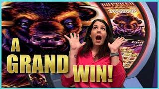 WOW What a GRAND WIN!  Buffalo Grand Slot 48 Spins HUGE WIN! * Casino Countess