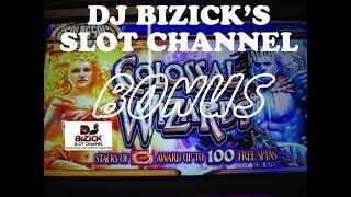 ~** FREE SPIN BONUS **~ Colossal Wizards Slot Machine ~ COLOSSAL WIZARDS! • DJ BIZICK'S SLOT CHANNEL