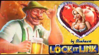 LOCK IT LINK slot machine LIVE PLAY Bonus Wins & more!