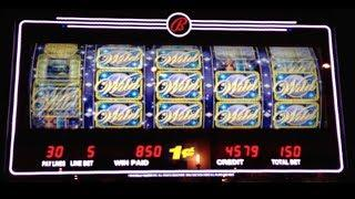Moon Goddess - Bally - BIG WIN! Slot Machine Bonus Win