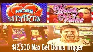 •$12,500 Buck 12Grand Max Bet Bonus Trigger Casino Video Slot Max More Hearts, Hearts Of Venice • Si