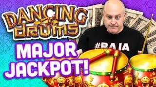 ⋆ Slots ⋆ High Limit Dancing Drums Major Jackpot ⋆ Slots ⋆ $44 Max Bet Hits Major Progressive Jackpot!