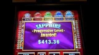 Life of Luxury Slot machine bonus Max bet, Progressive Win