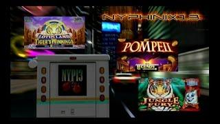 Jungle Fury • Lotus Land Tiger's Winnings • Legends Pompeii Deluxe Slot Bonuses BIG WIN