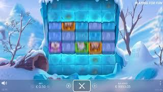 Ice, Ice Yeti slot from Nolimit City - Gameplay