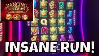 INSANE RUN ON DANCING DRUMS