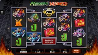 Monster Wheels Slot Features & Game Play - by Microgaming