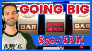 Going BIG before Going Home! • HIGH LIMIT From my LAUGHLIN Trip! • Brian Christopher Slots