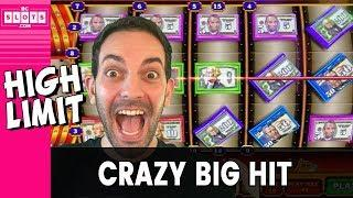 • CRAZY Money = CRAZY Big Hit • High Limit INSANITY • • BCSlots #AD