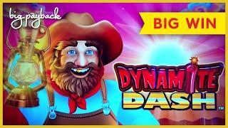 GREAT SURPRISE! All Aboard Dynamite Dash Slot - BIG WIN BONUS!