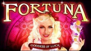 FIRST TIME!  FORTUNA & MUSTANG FORTUNE SLOT MACHINE POKIES BONUSES
