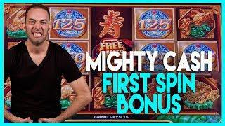 •BONUS First Spin @ Mighty CASH (w/ Brian's Beautiful Song!)•HIGH LIMIT Dancing Drums • BCSlots