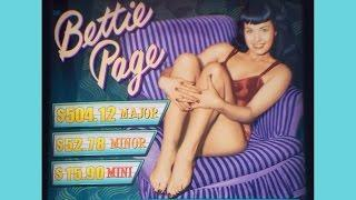++NEW Bettie Page slot machine, #G2E2015, Aristocrat