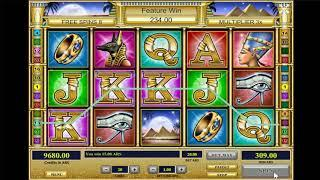 Cleopatra's Secret slots - 435 win!
