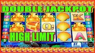 • LET'S OPEN THE TREASURE BOX! • DOUBLE JACKPOT TURTLE TREASURE HIGH LIMIT