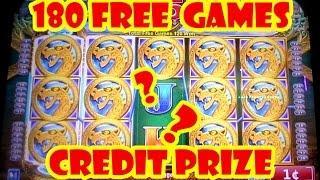 "180 FREE GAMES / CREDIT PRIZES ""Konami Slot Machine"""