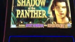 Shadow of the Panther Bonus WIN at $27 spin @Talking Stick Resort in Scottsdale AZ