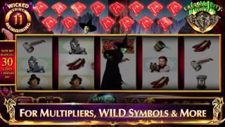 THE WIZARD OF OZ™ WICKED WITCH OF THE WEST™ Slot Machines By WMS Gaming