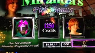 Sex And The City Platinum Miranda Bonus #2 At Max Bet