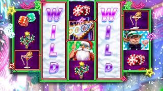 KRINGLE'S GETAWAY Video Slot Casino Game with a FREE SPIN BONUS