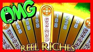 $ GRAND JACKPOT WITH ONE WEDGE!! • REEL RICHES • FORTUNE AGE • BIG SLOT MACHINE WINS & BONUSES