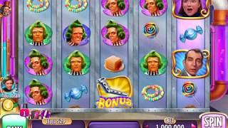 WILLY WONKA: BLUEBERRY FOR A DAUGHTER Video Slot Casino Game with a WHEEL BONUS