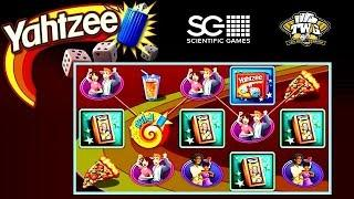Yahtzee Online Slot from Scientific Games •