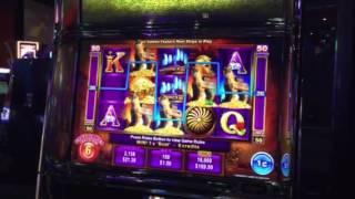 Trojan Treasure Slot Machine 5 Symbol Trigger Free Spin Bonus Spirit Mountain Casino