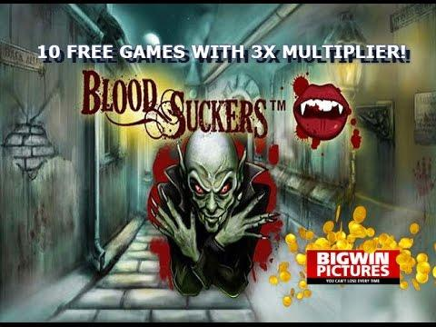 Blood Suckers Slot - 10 Free Games!