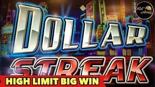 •️HIGH LIMIT DOLLAR STREAK BIG WIN•️$5 BET GRAND DRAGON | DRAGON LINK BONUS SLOT MACHINE