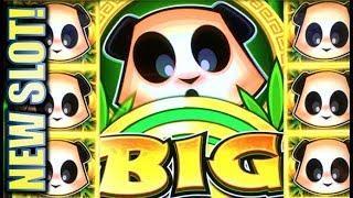 •NEW SLOT! PANDA WIN!• • RISING PANDA & RISING GUARDIAN Slot Machine Bonus (SG)