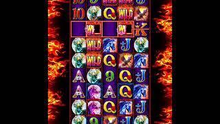 RUMBLE RUMBLE Video Slot Casino Game with a RUMBLE RUMBLE FREE SPIN BONUS