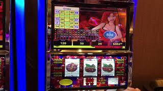 VGT Slots Hot Red Ruby $12.50 The Gambler Max  Came out Winner. I Hope Kenny Rogers Likes this.