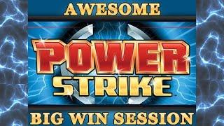 Power Strike - Big Wins - max bet multiple bonuses w/ live play - Slot Machine Bonus