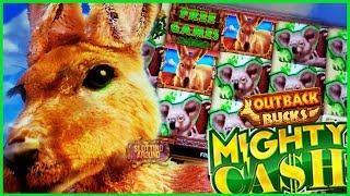 Mighty Cash Outback Bucks Slot Bonus Wins in Las Vegas