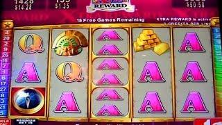 Bonus on Quest for Riches - 1c Konami Video Slot Game