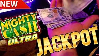 Mighty Cash ULTRA Slot Machine HANDPAY JACKPOT - Amazing Session & Epic Comeback | SE-5 | EP-5