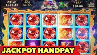 •JACKPOT HANDPAY• VOLCANIC ROCK FIRE MASSIVE LINE HIT | Jester's Mirror | Star Watch Fire Bonus