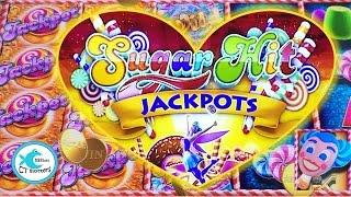 Sugar Hit Jackpots Slot Machine - Big Wins! Progressives! All 3 Versions!