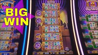 Miss Kitty Gold Slot Machine Bonus •BIG WIN• SUPER FREE GAMES WON! Wonder 4 Tower BIG WIN