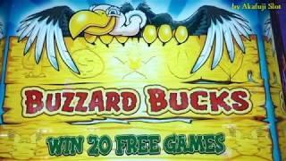 BUZZARD BUCKS Slot [Blazing Sevens] [Bonus Game] [Pechanga] [$1 Slot] [アカフジ] [カルフォルニア] [カジノ] [スロット機]
