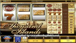 All Slots Casino's Thousand Island Classic Slots