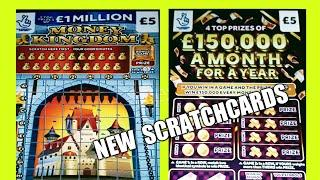 NEW SCRATCHCARDS..MONEY KINGDOM...AND OTHERS