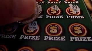 $20 Lottery Ticket - 100X the Cash Illinois Instant Lottery Scratchcard