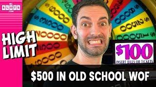 • $500 Classic WOF • BIG RISKS @ San Manuel Casino • BCSlots