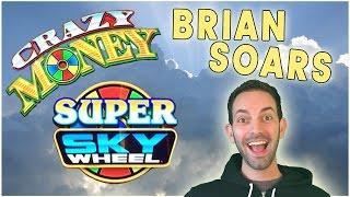 CRAZY MONEY Super Sky Wheel • SPINNING • SATURDAYS • Slot Machine Pokies Daily!