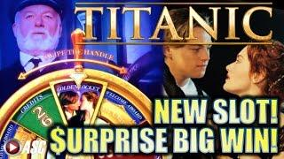 •NEW SLOT! BIG WIN!!• TITANIC 2 HEART OF THE OCEAN (SG) & QUICK HIT VOLCANO (SG) Slot Machine Bonus